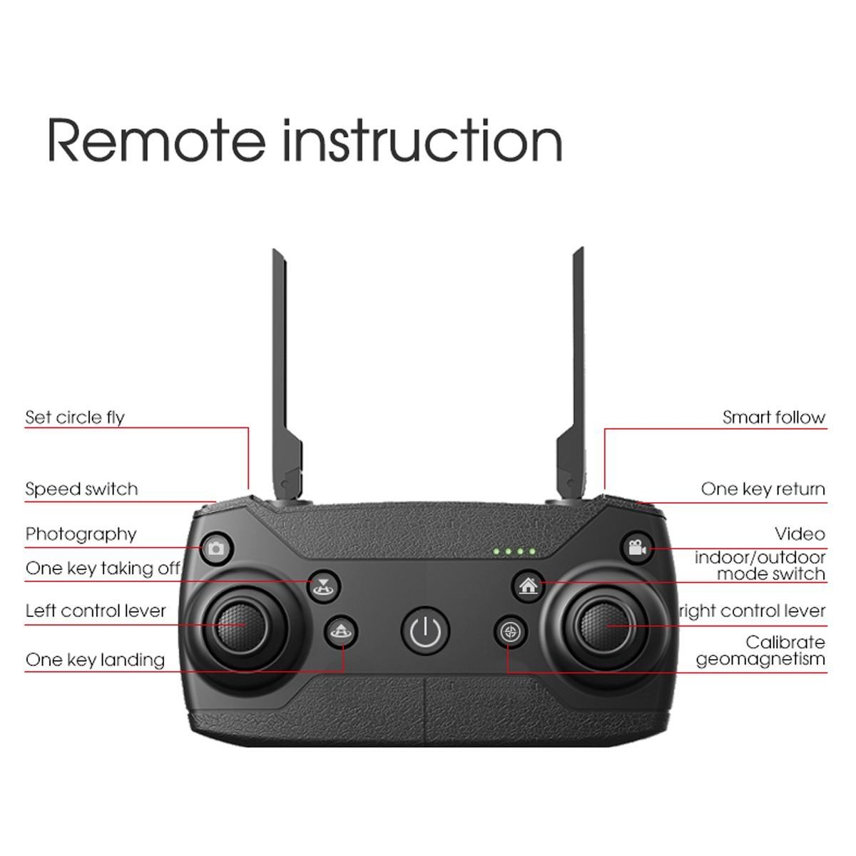 Generic Drone Rc Wifi Selfie Camera Haute Def Prix Pas