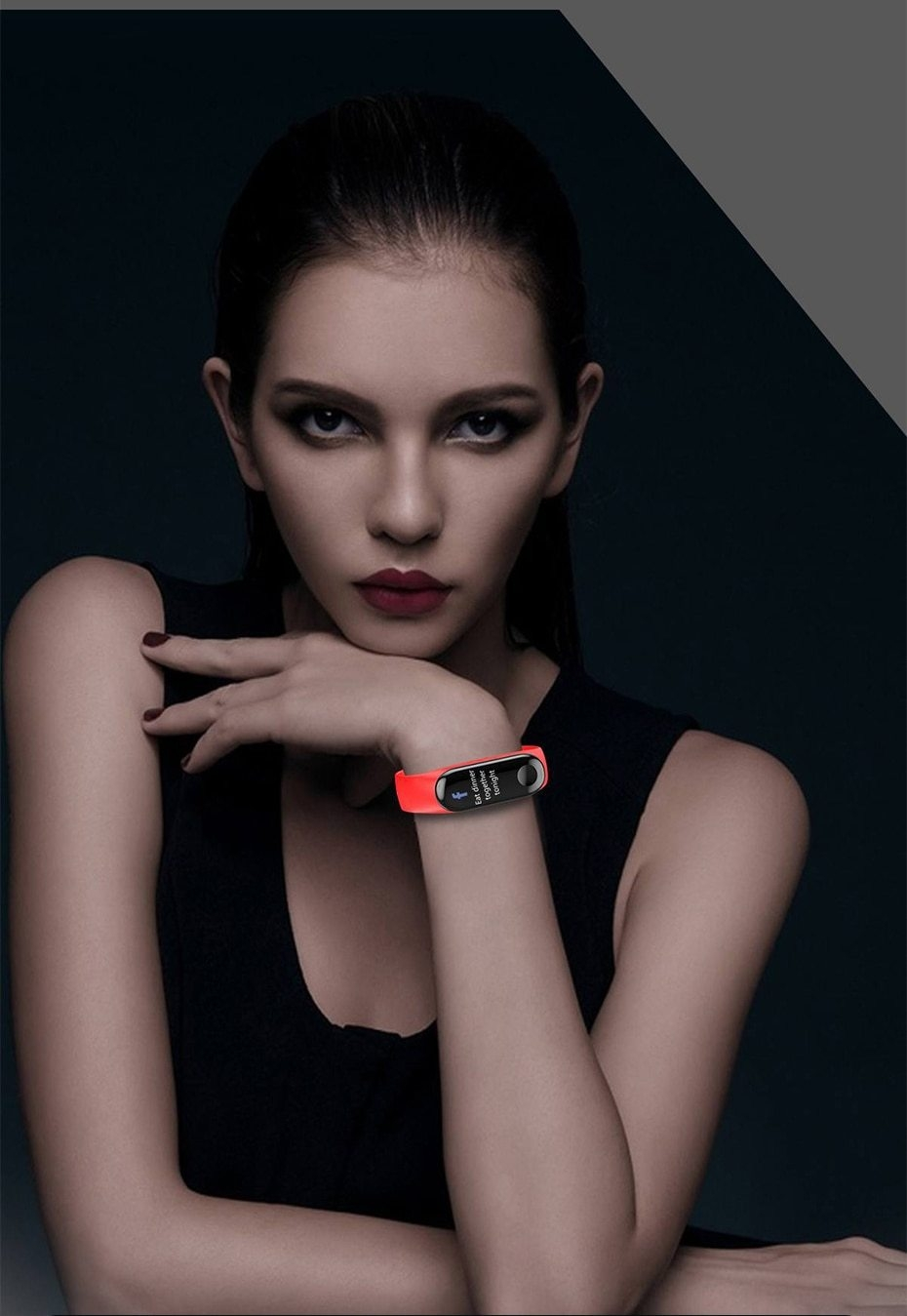 Newest Smart bracelet M3 Sports Blood Pressure Oxygen Heart Rate Monitor Watch Message Caller Smart Band PK For Xiomi mi band 3 (3)