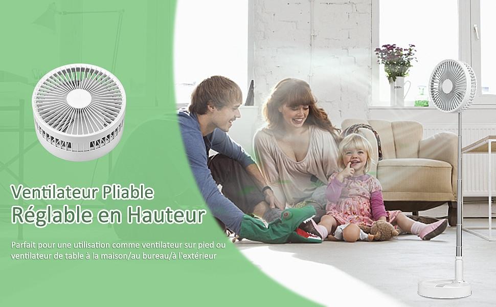ventilateur pliable