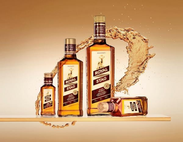 Image result for Whisky Royal Stag - 375 ML