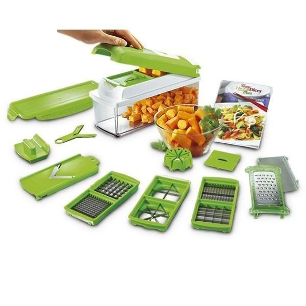 Image result for Hachoir Nicer Dicer Fusion pour légumes et fruits
