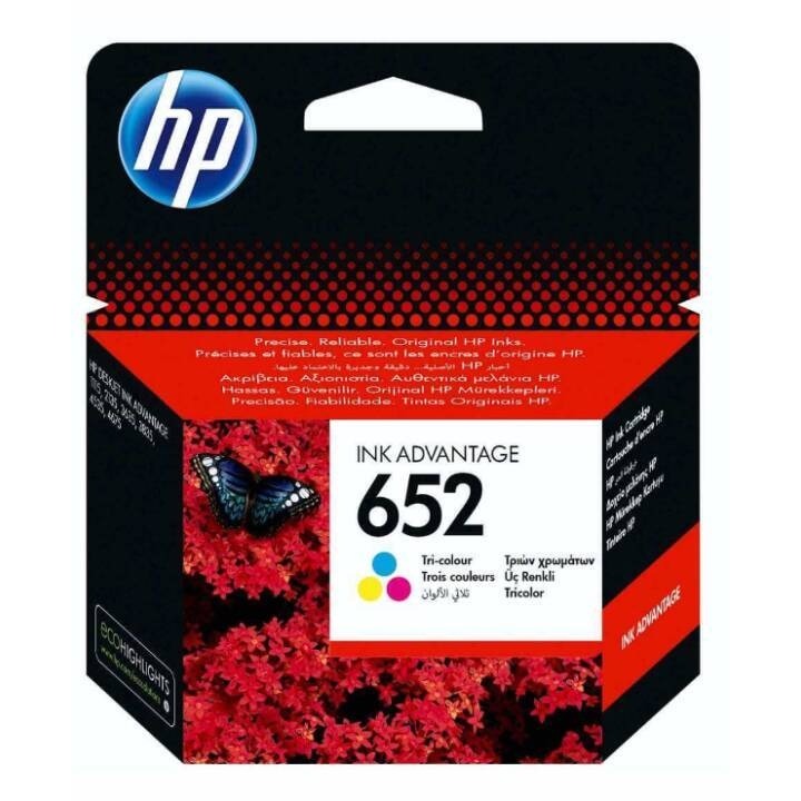 Image result for Hp Cartouches D'encres HP 652 - Multicolore