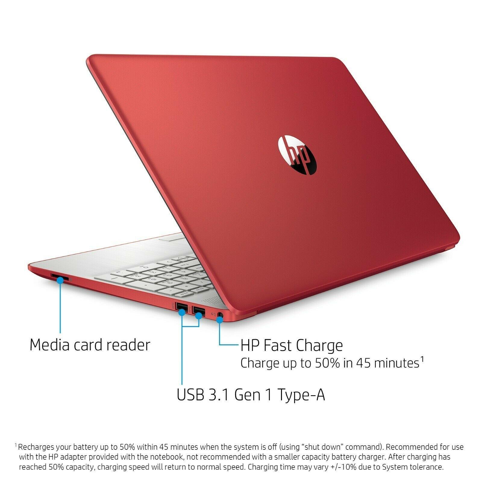 HP 15-DW0081WM 15.6 in 500 GB Intel Pentium 2.70 GHz 4GB Laptop - Red -  1A406UA for sale online - eBay