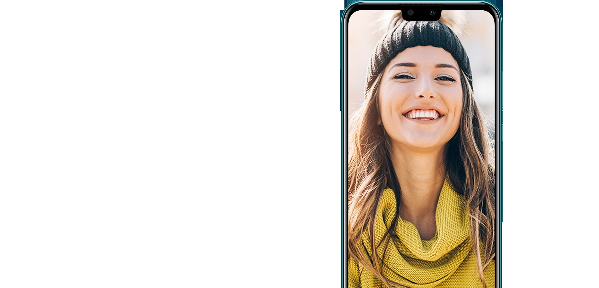 HUAWEI Y9 2019 Éclairage 3D de caméra frontale