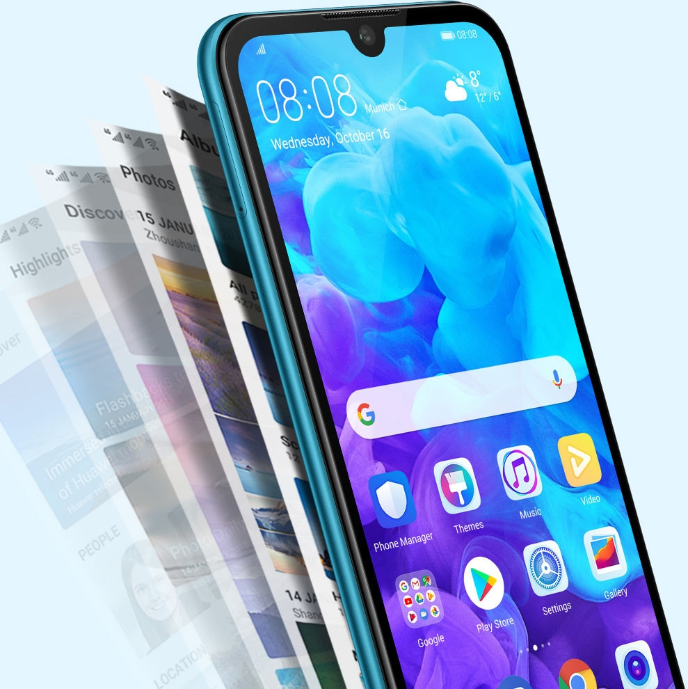 Huawei Y5 Stockage
