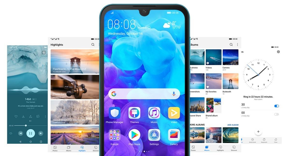 Image result for huawei y5 2019