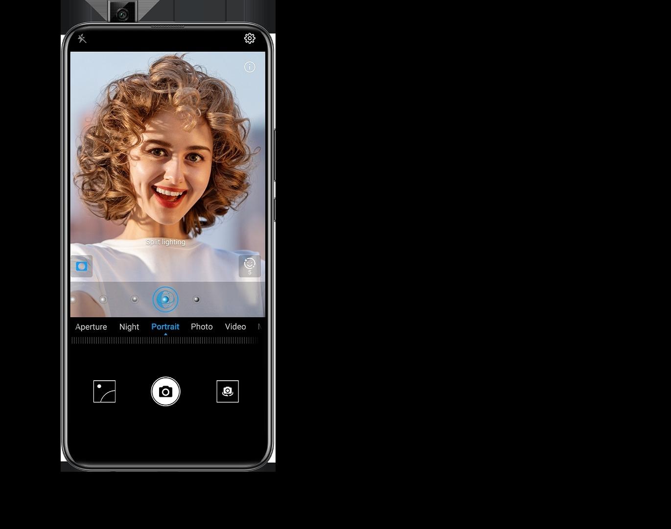 Huawei Y9 Prime 2019 3d portrait téléphone