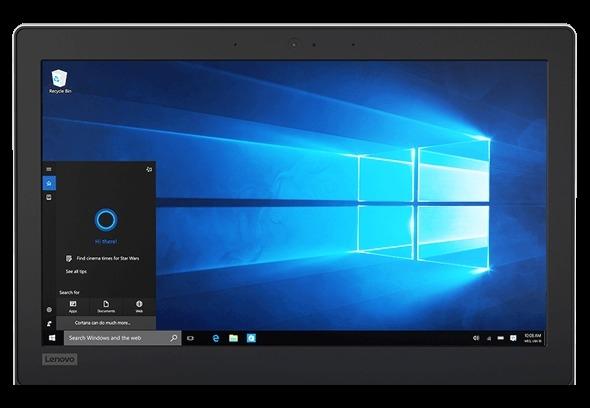 Lenovo Ideapad 120s Display Showing Windows Cortana