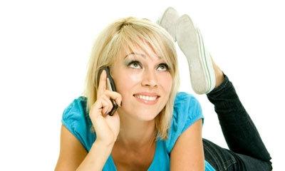 L'Image résultat pour femme au téléphone