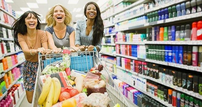 Image result for faire des achats dans un super marché