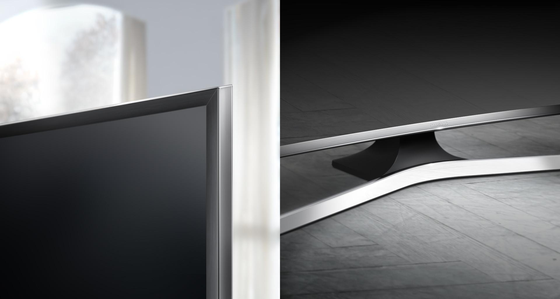Un design sublimé par une courbe élégante et des finitions métallisées