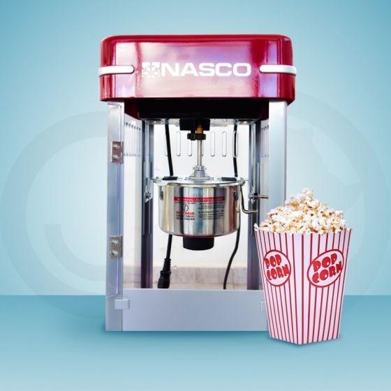 Image result for machine à pop corn nasco