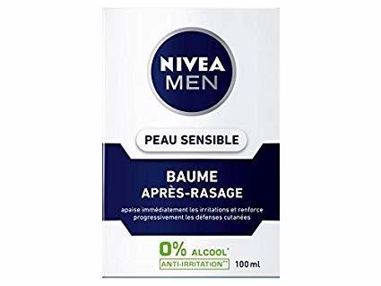 """Résultat de recherche d'images pour """"Nivea Men Baume Apres Rasage Sensitive - 100Ml"""""""