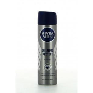"""Résultat de recherche d'images pour """"Déodorant Spray Hommes Silver Protect Men 200ml"""""""