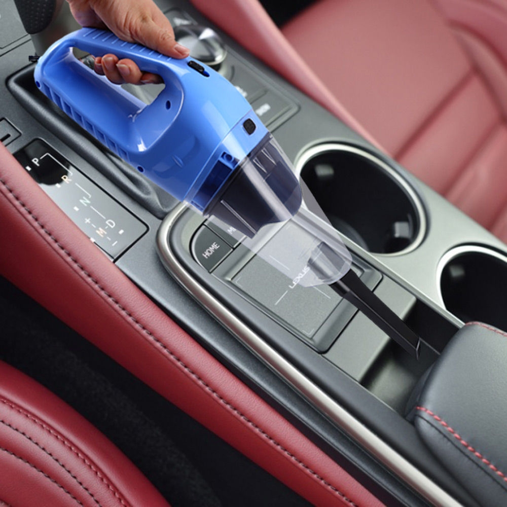 12V 120W Car Vacuum Cleaner Handheld Wet Dry Dual-use Dust Cleaner 4.5m