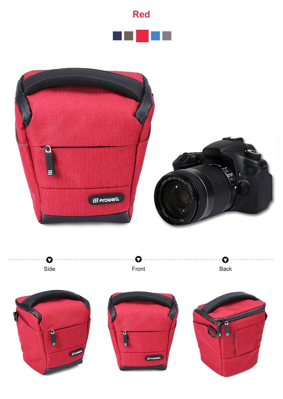 PROWELL DC22009B DSLR Camera Photography Handbag Shoulder Bag