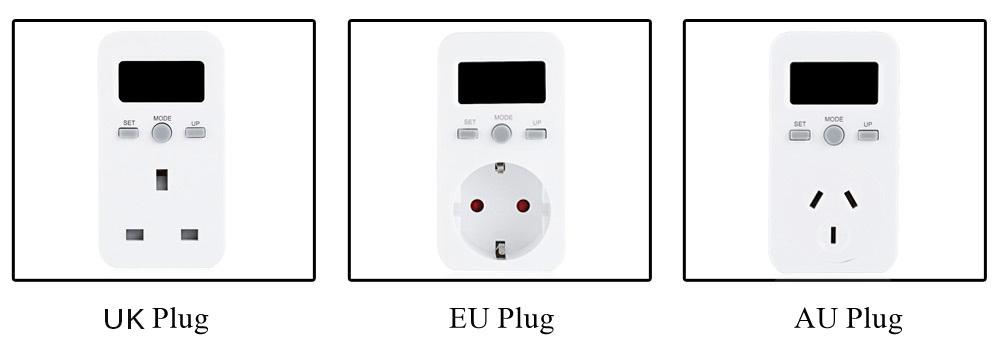 Produits generiques moniteur d 39 nergie enfichable consommateur d 39 lectricit prise de - Prise electrique en anglais ...