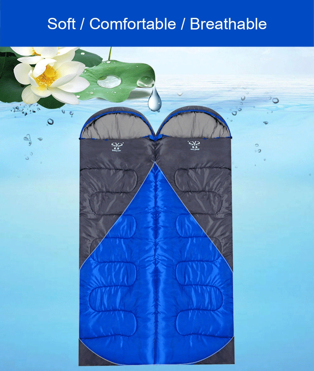 Shengyuan Outdoor Adult Foldable Splicing Water Resistant Thick Envelope Sleeping Bag