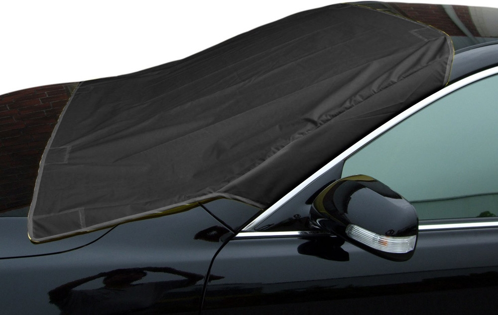 TZ-1012 Universal Car Windshield Snow Cover Truck SUV Ice Protector Sun Shield with Storage Pouch