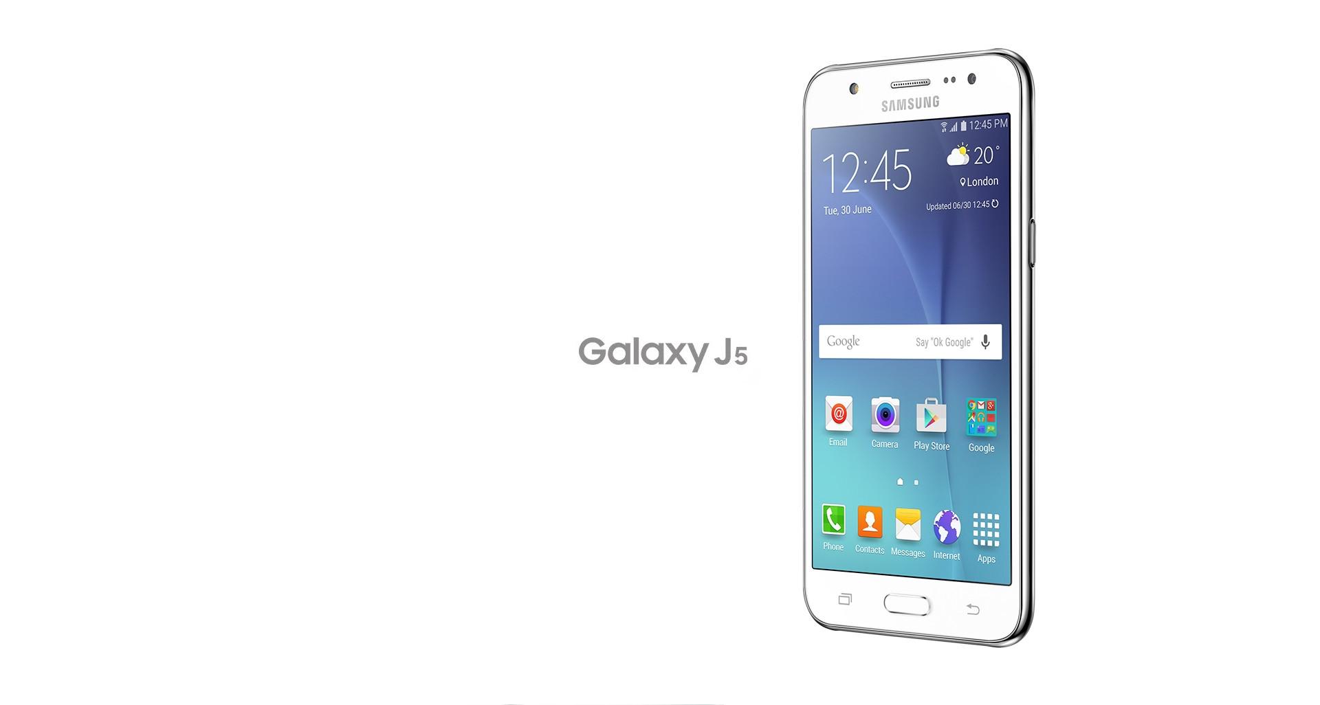 Découvrez le Galaxy J5