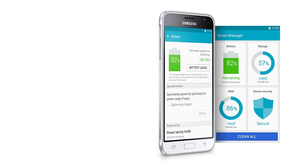 L'application intelligente Smart Manager