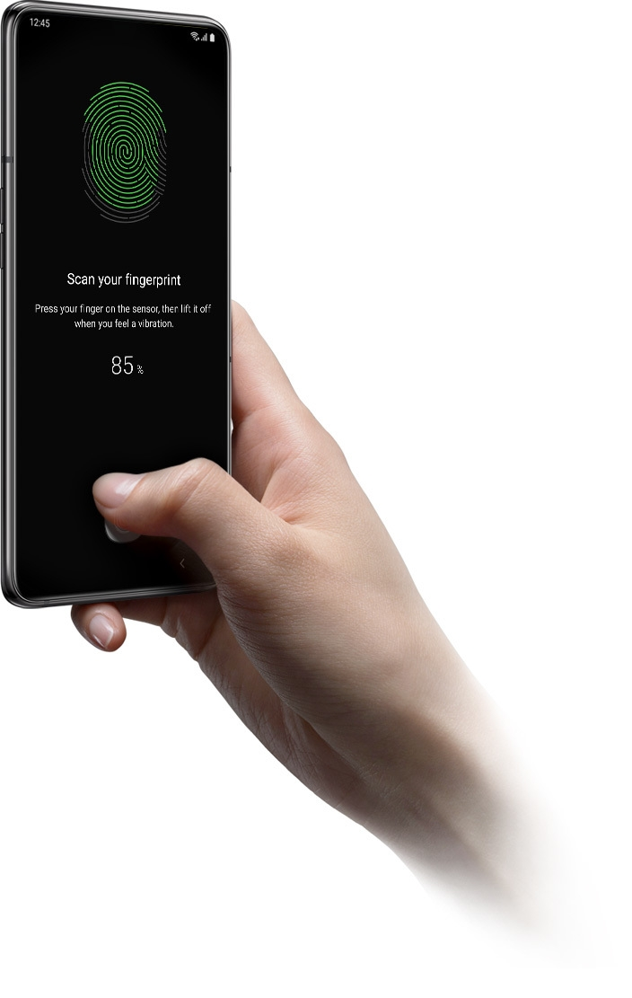 Image result for galaxy a80 fingerprint
