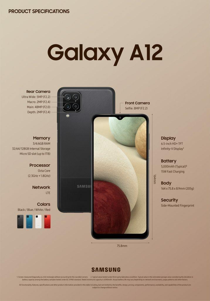Samsung lance les Galaxy A12 et Galaxy A02s début 2021 – Samsung Newsroom  Belgique