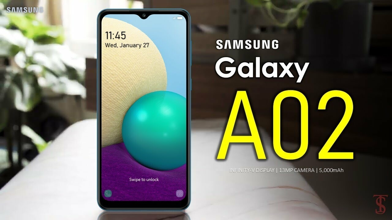 Samsung Galaxy A02 Price, Official Look, Camera, Design, Specifications,  Features - YouTube
