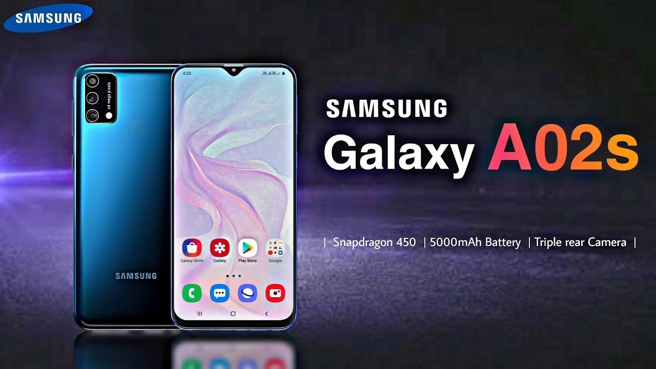 Samsung Galaxy A02s - Samsung A02s - Specifications Launch Date And Price -  YouTube