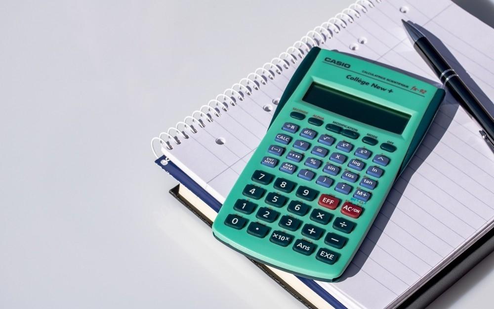Image result for Calculatrice sharp, sur exercice de math