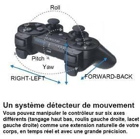 PAD PS3 SIXAXIS