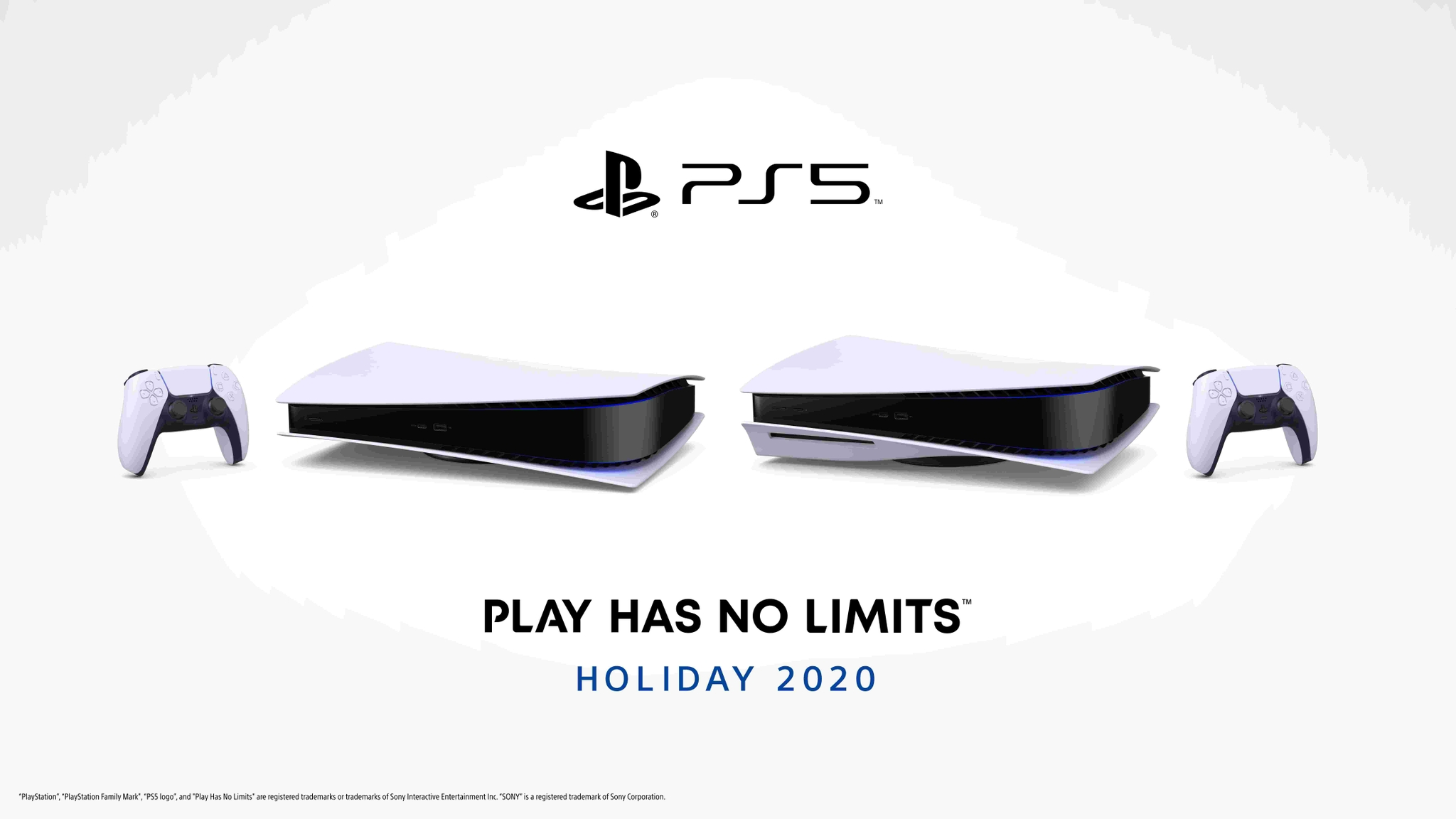 PlayStation 5 consoles flat