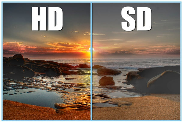 Image result for HD vs led