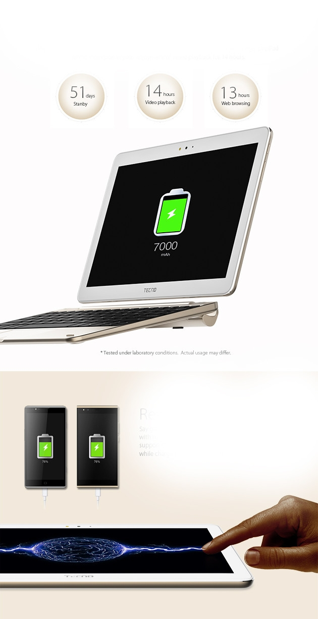 tecno droipad10 pro pc convertible tablette ecran 10 1 pouces 4g m moire 32go. Black Bedroom Furniture Sets. Home Design Ideas