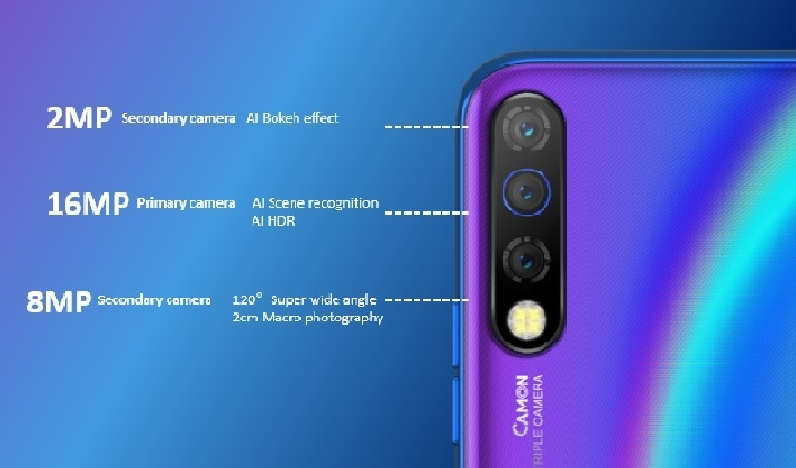 Image result for camon 12 features