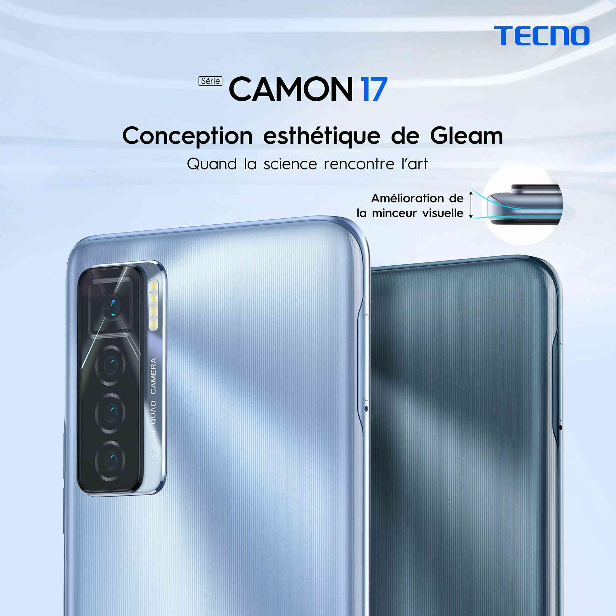 Tecno Mobile : Grand lancement du Camon 17, Un téléphone fait pour vous  démarquer avec une incroyable CAMERA AVANT de 48 MP - Life Magazine