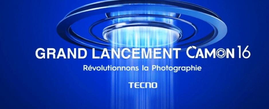 Lancement Tecno Mobile : La série des Camon 16 officiellement présentée en  ligne ce Jeudi 15 Octobre - AfrikMag