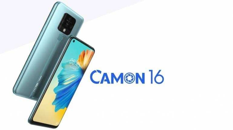 Tecno Camon 16 with 64 MP quad cameras, 5,000 mAh battery, 6.8-inch display  launched in India