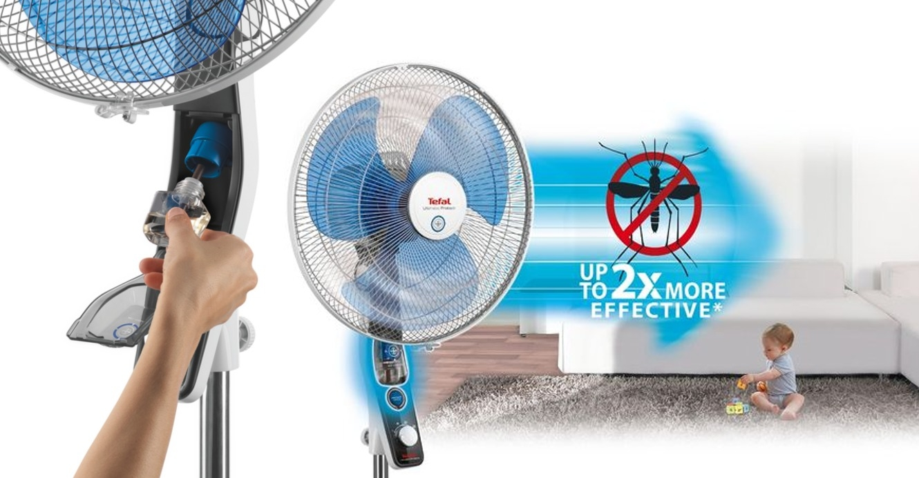 Ventilateur anti-moustique (Tefal) : si pratique, si efficace, si confortable !