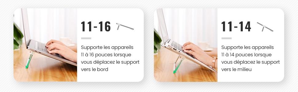 compatible avec les appareils 11-17pouces