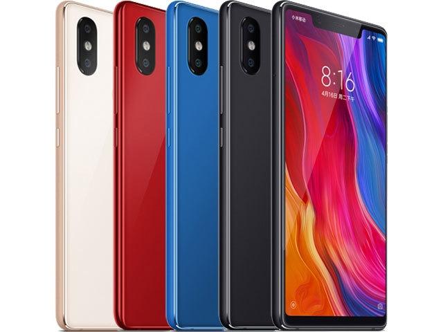 Xiaomi mi 8 6.2 pouces 12 mpx 64 go ram 6 go snapdragon 845