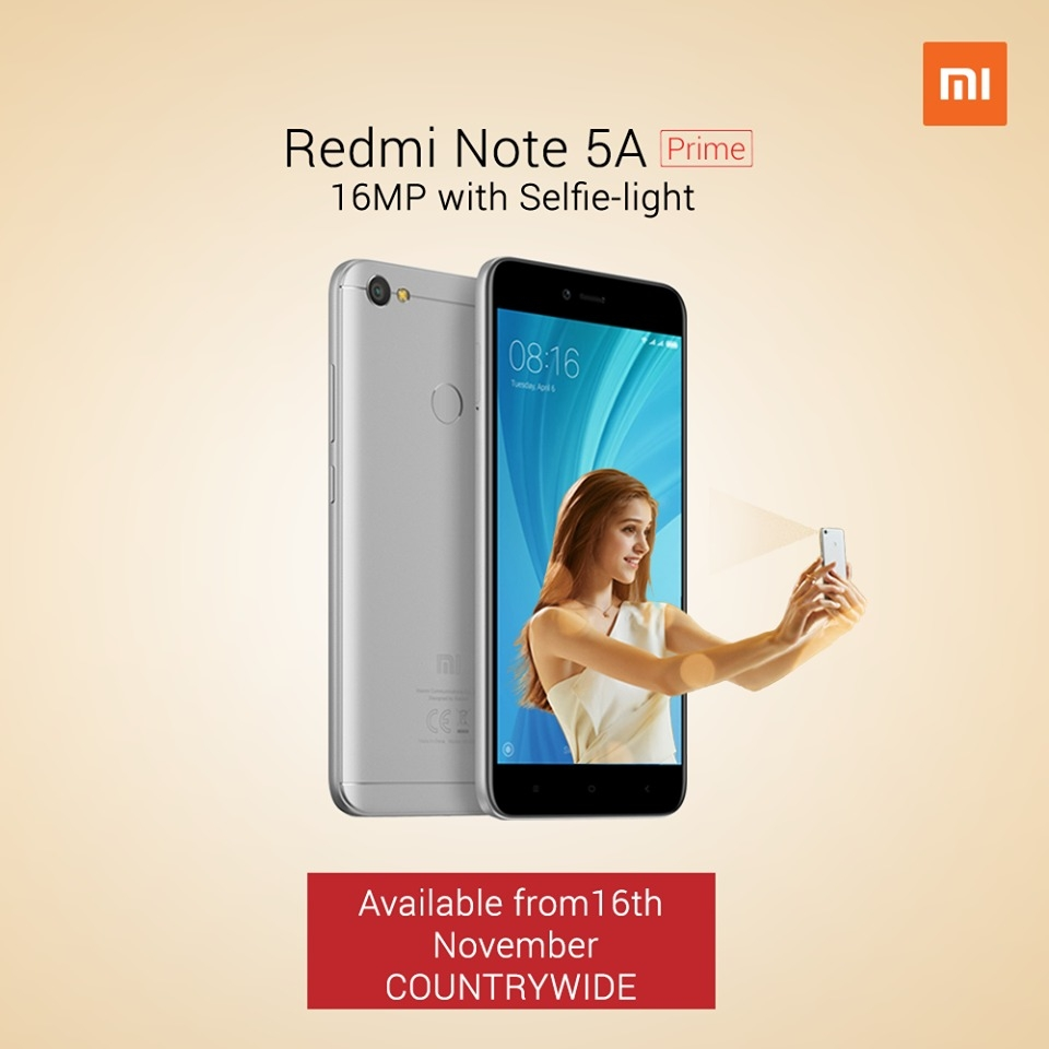 Image result for Redmi note 5A Prime