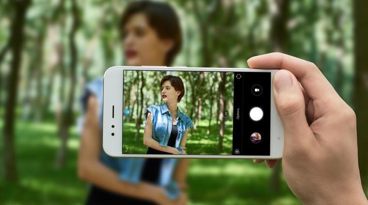 Image result for Xiaomi mi A1 selfie