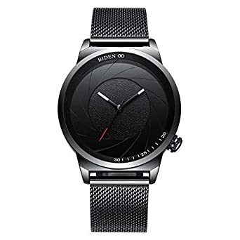Image result for Montre En Cuir Bande Multiple - Homme - Noir