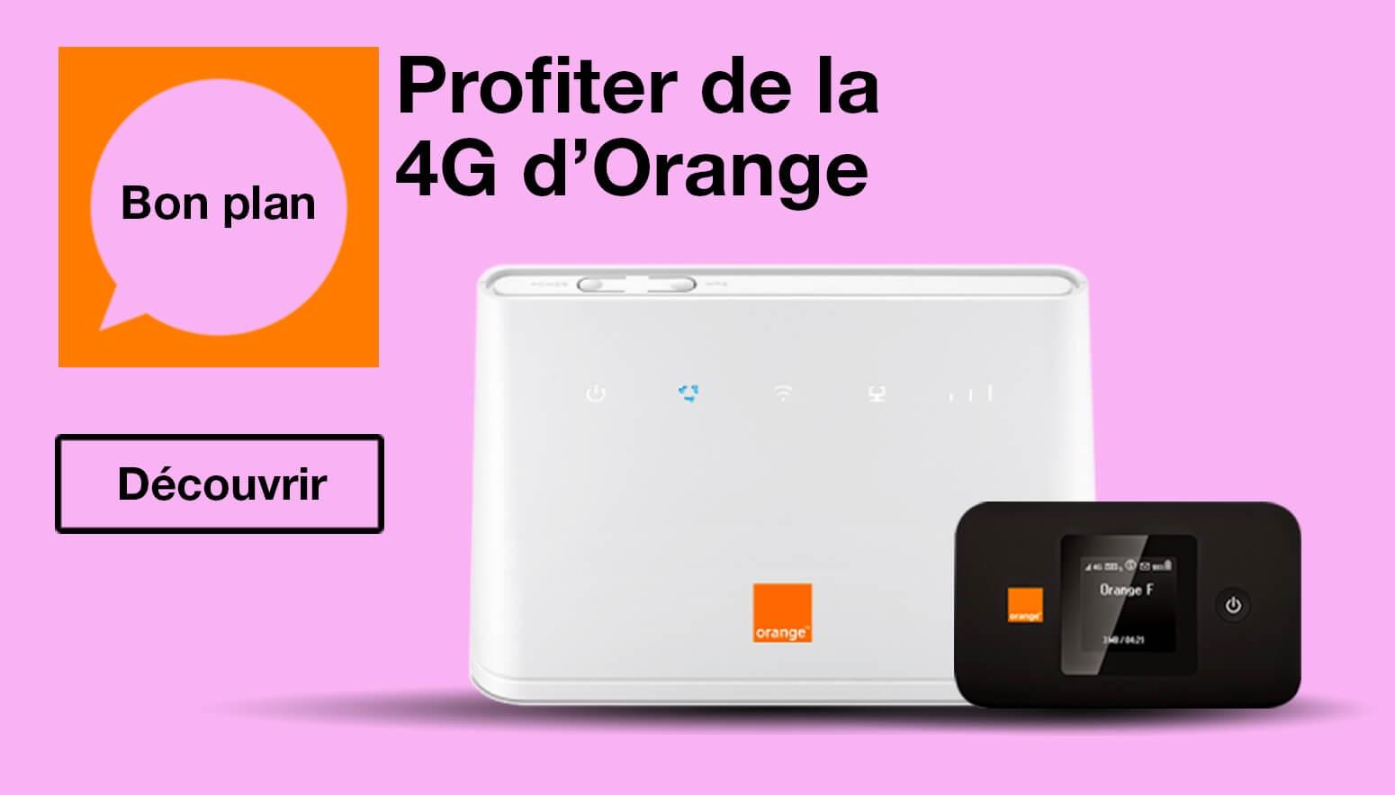 Profiter des offres Orange 4G