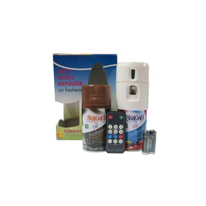 Diffuseur De Parfum Automatique Avec Télécommande +2Recharges - Blanc