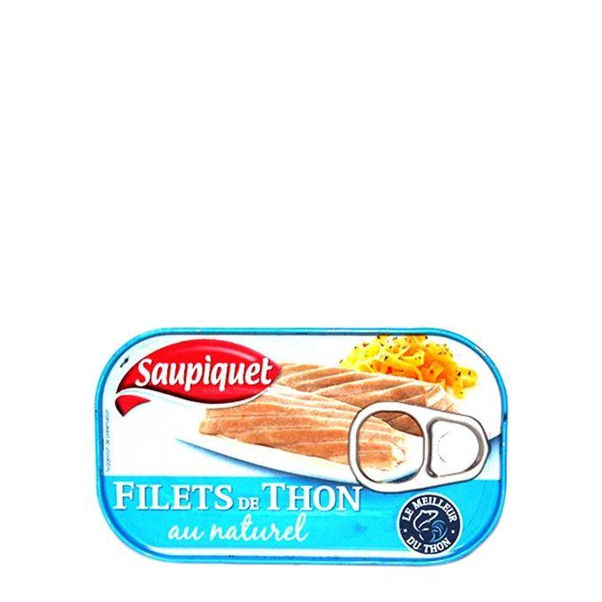 Saupiquet Filets De Thon Nature 115G