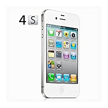 apple iphone 4s -16gb rom - black - refurbished - 6 months warranty - black/white