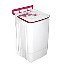 machine à laver semi-auto 9 kg  - blanc