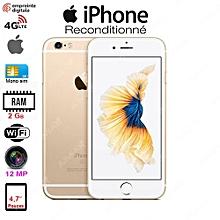iphone 6s - 4.7 pouces - 4g lte - 12 mégapixels - ios - 64go - ram 2 go - gold - garantie 3 mois - reconditionné